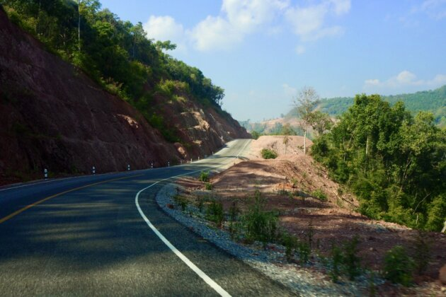 Laos silnice