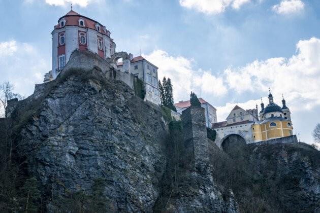 Vranov Zamek na skale