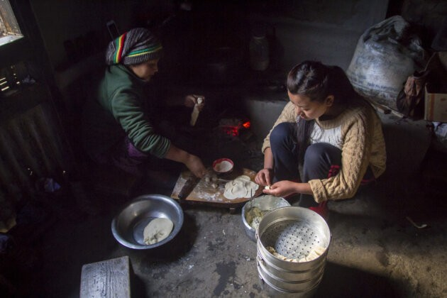 29 Indie Nepal Singalia