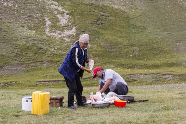 10 Kuchani Ovce Kyrgyzstan