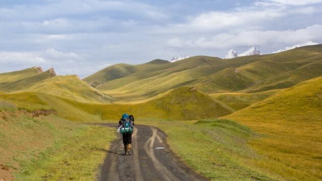 22 Kok Kiya Cesta Kyrgyzstan