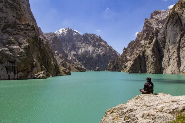 34 Kel Suu Jezero Kyrgyzstan