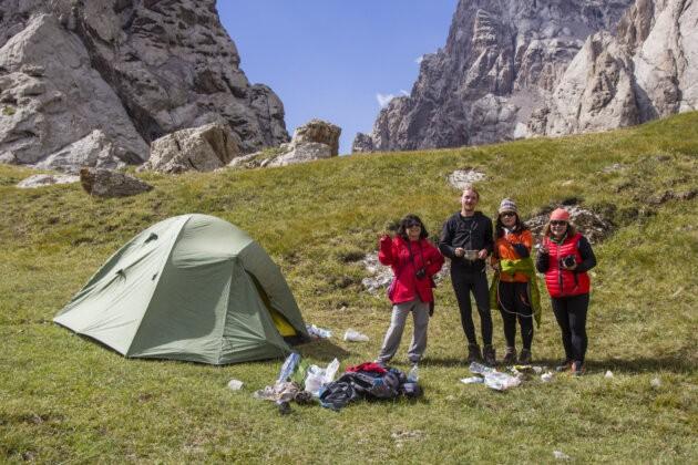 37 Turisti Kyrgyzstan