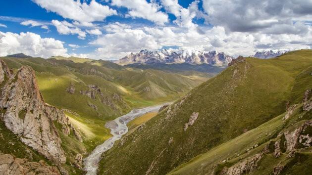 58 Kok Kiya Udoli Hory Kyrgyzstan