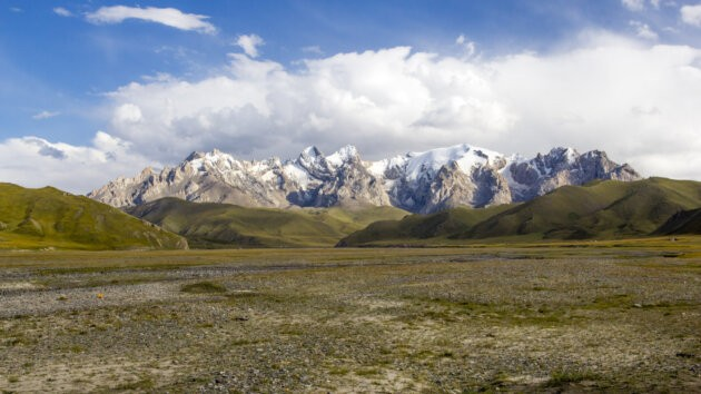 59 Kok Kiya Udoli Hory Kyrgyzstan