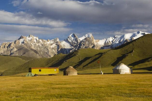 kok kiya Jurty Hory Kyrgyzstan