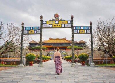 Vietnam Hue zakázané město