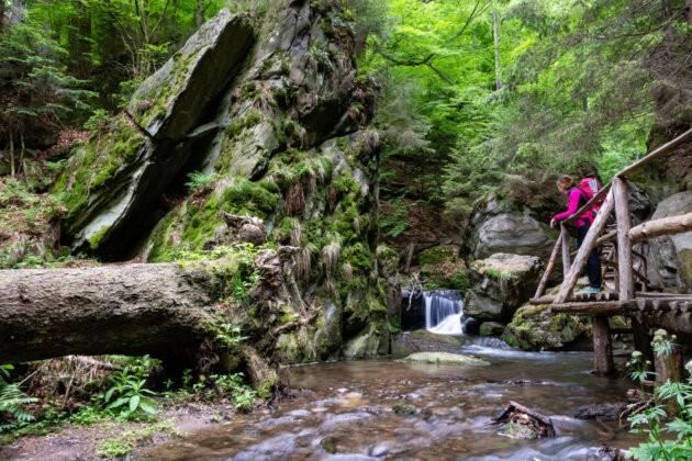 34 Resovske Vodopady