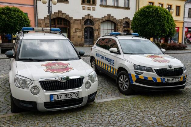 14 Lanskroun Spz Policie