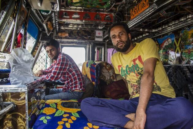 kamion indie vyzdoba zevnitr