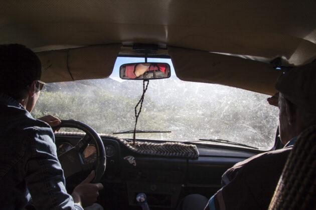 autostop tádžikistán pamír