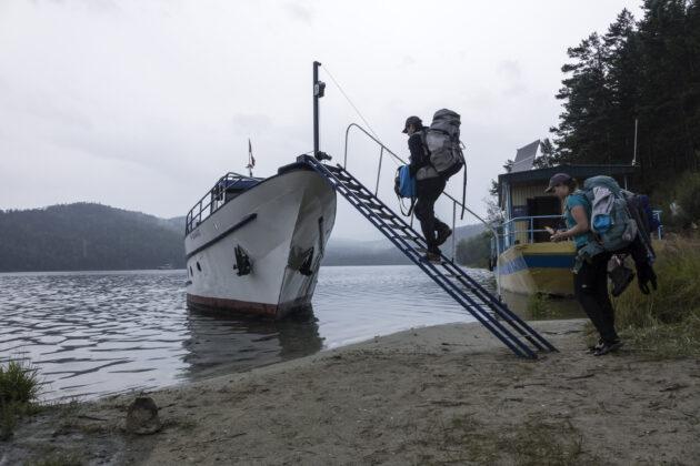 stopování lodí