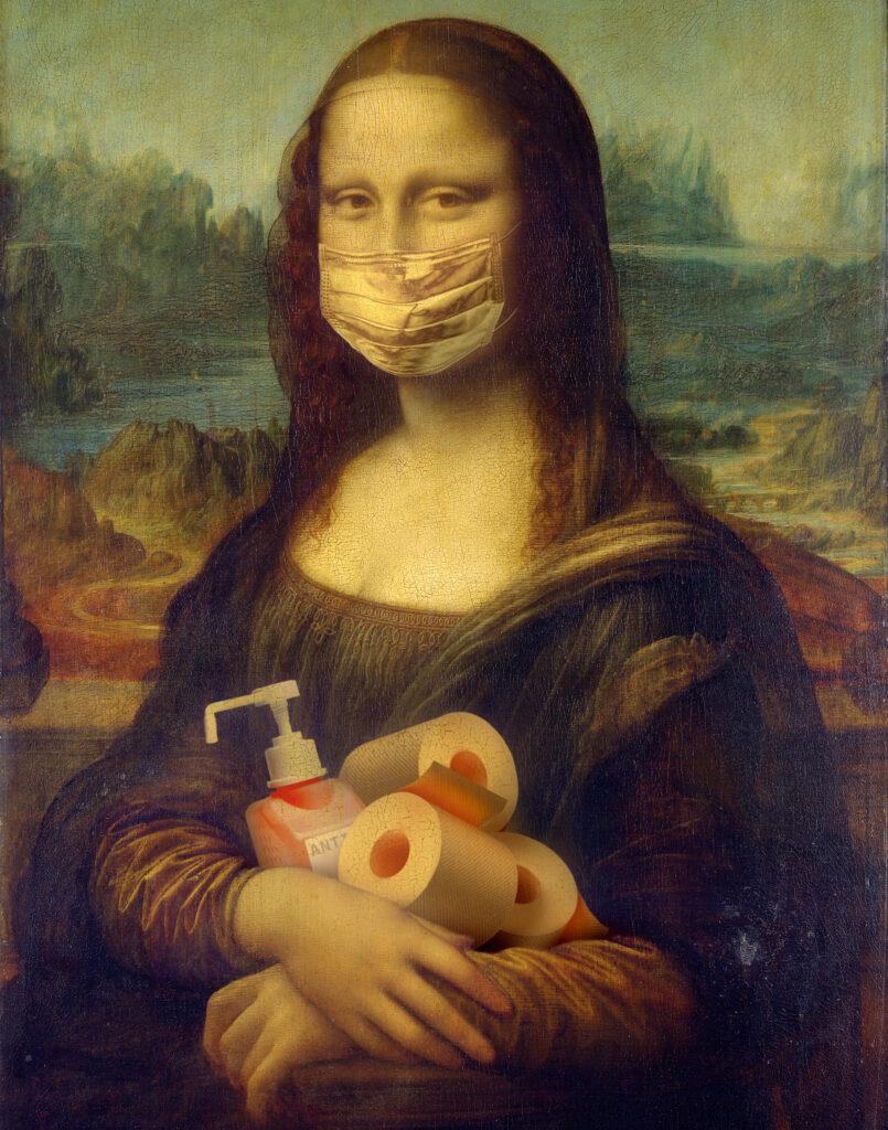 Covidova Mona Lisa 2