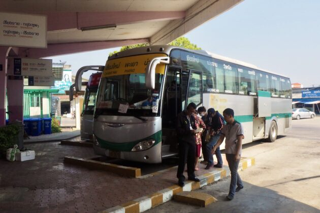 autobus thajsko