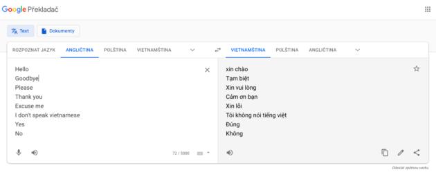 vietnamstina konverzace