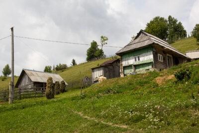 Ukrajina Domky Zakarpati
