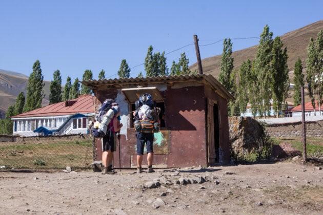maly obchudek horska vesnice