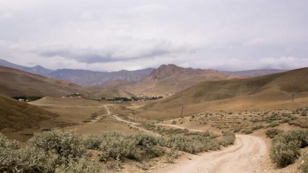 cesta pustinou