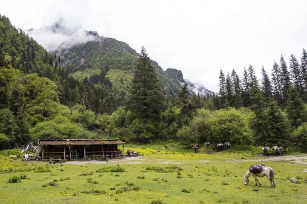 11 Four Sisters Mountains čína