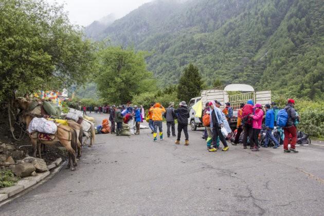 26 Four Sisters Mountains čína