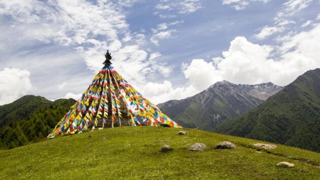36 Four Sisters Mountains čína