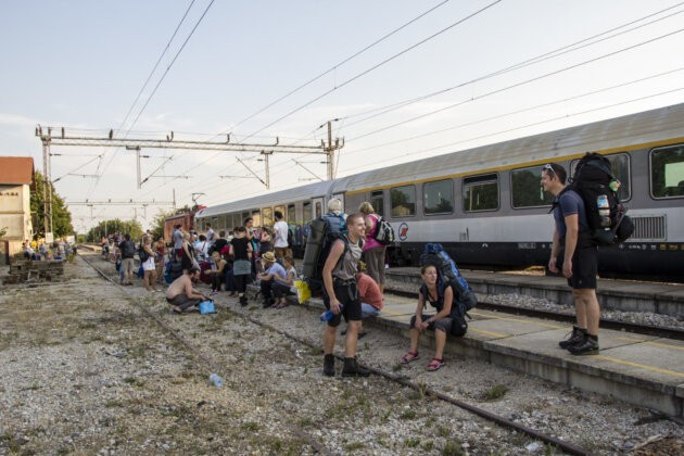 vlak srbsko