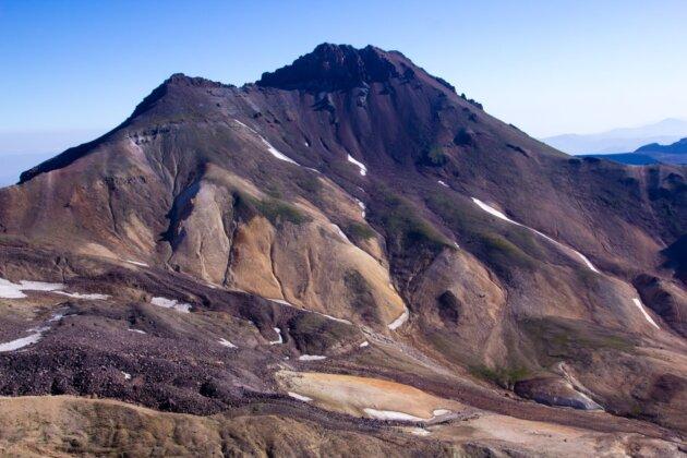 Aragats Armenie severni vrchol