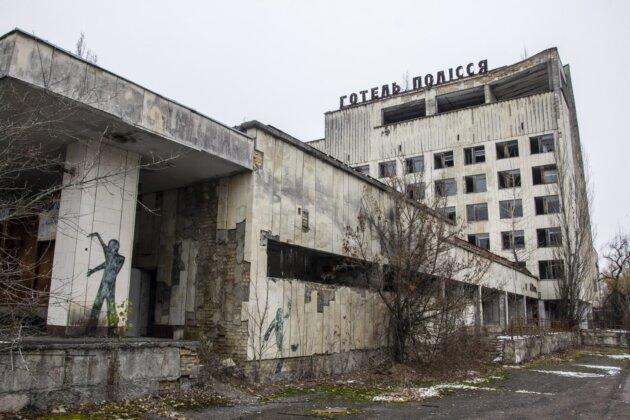 opusteny hotel pripjat Ukrajina