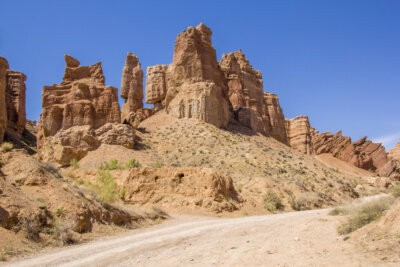 19 Charyn Kazachstan Castles
