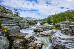 17 Rondane Norsko Skandinavie
