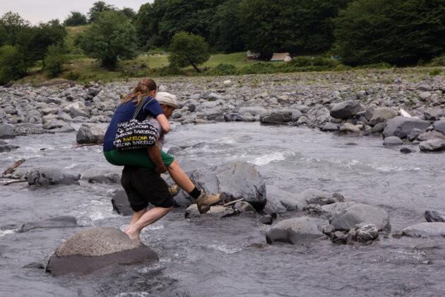 prenos divky pres reku