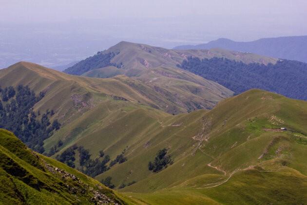 horsky hreben