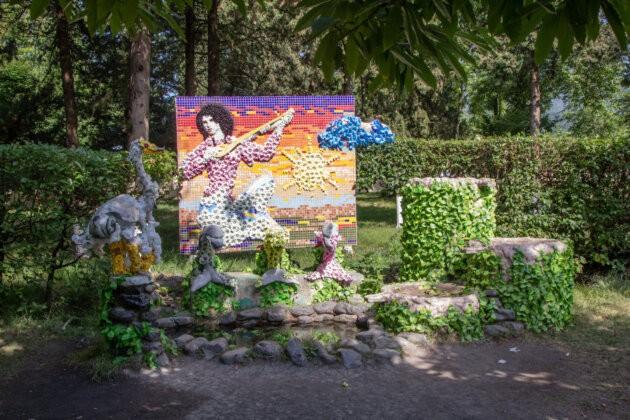 mozaika v parku