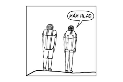 01 Komiks Za Horami Mam Hlad Nahled