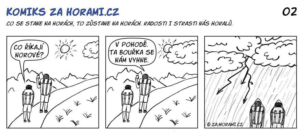 02 Komiks Za Horami Co Na To Norove Komplet