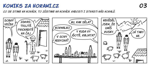 03 Komiks Za Horami Caj Komplet