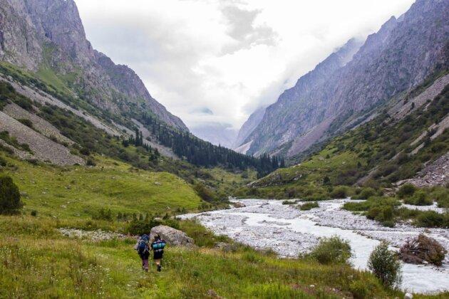 Udoli Ala Archa Kyrgyzstan