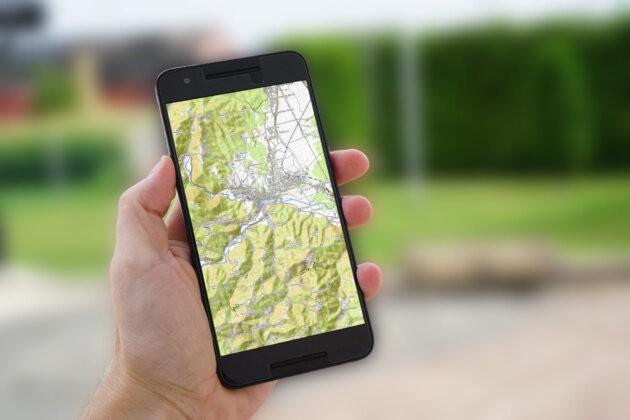 mapy v mobilu