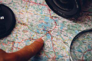 Staré mapy pro východní země