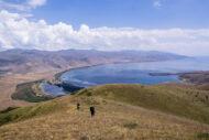 Arménské jezero Sevan: Nebe a ještěrky kam se podíváš