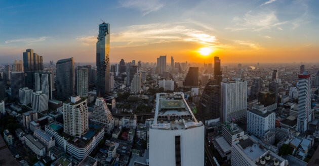 Thajsko bangkok slunce