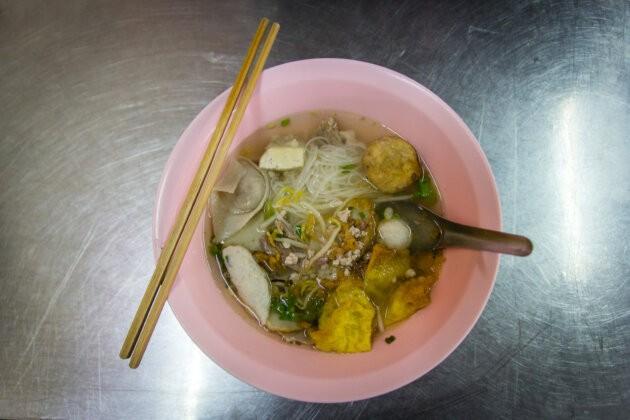 Thajsko jídlo polévka