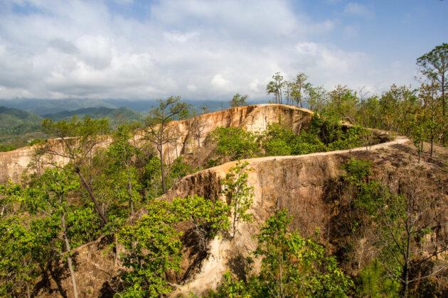 Thajsko pai kaňon