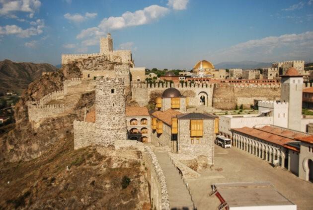 Rabati hrad mesto Achalciche s hradbami
