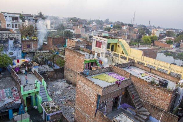 Strechy domu Z Vysky Indie philibit