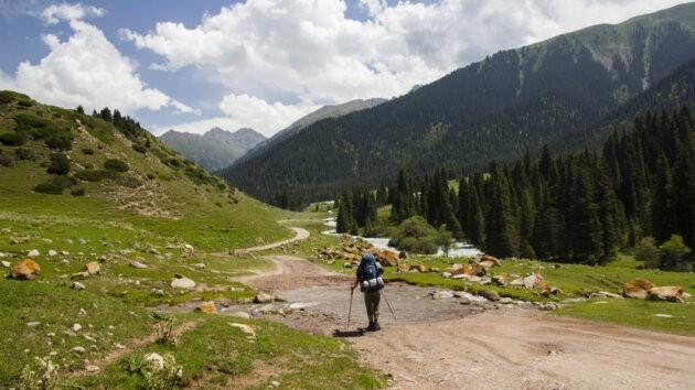 Cesta Do Udoli Kyrgyzstan