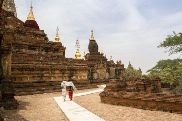 Bagan historie Chramy Cesticka pagoda