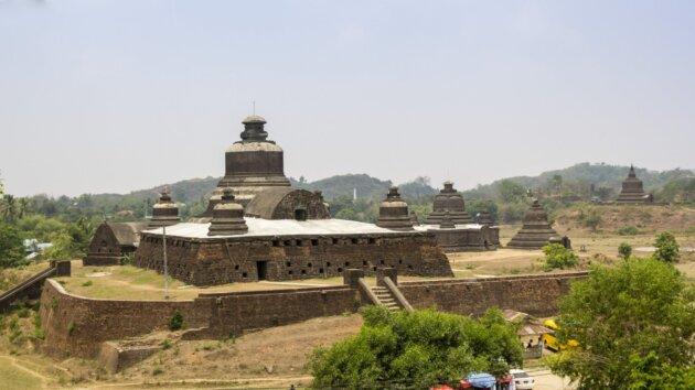 Chramy Mrauk U pagody historie