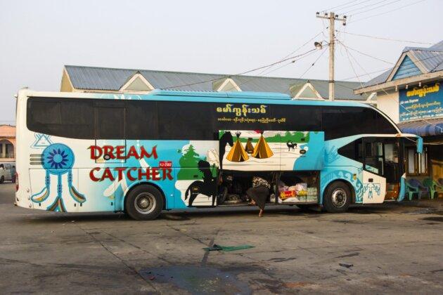 Pomalovany Autobus