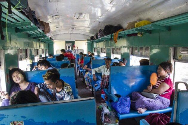 Vlak Druha Trida
